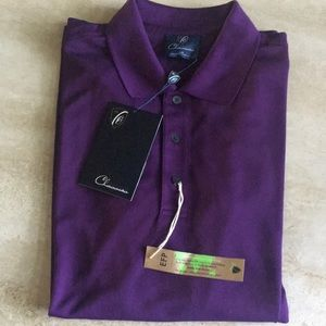 Cleveland Classic purple golf shirt
